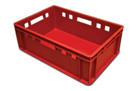 Raudona dėže